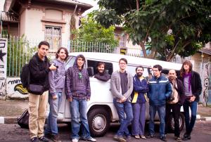 Banda Woodser (Guatemala) em turnê pello Brasil em 2012